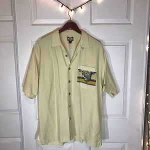 Tommy Bahama Button Up T shirt Large